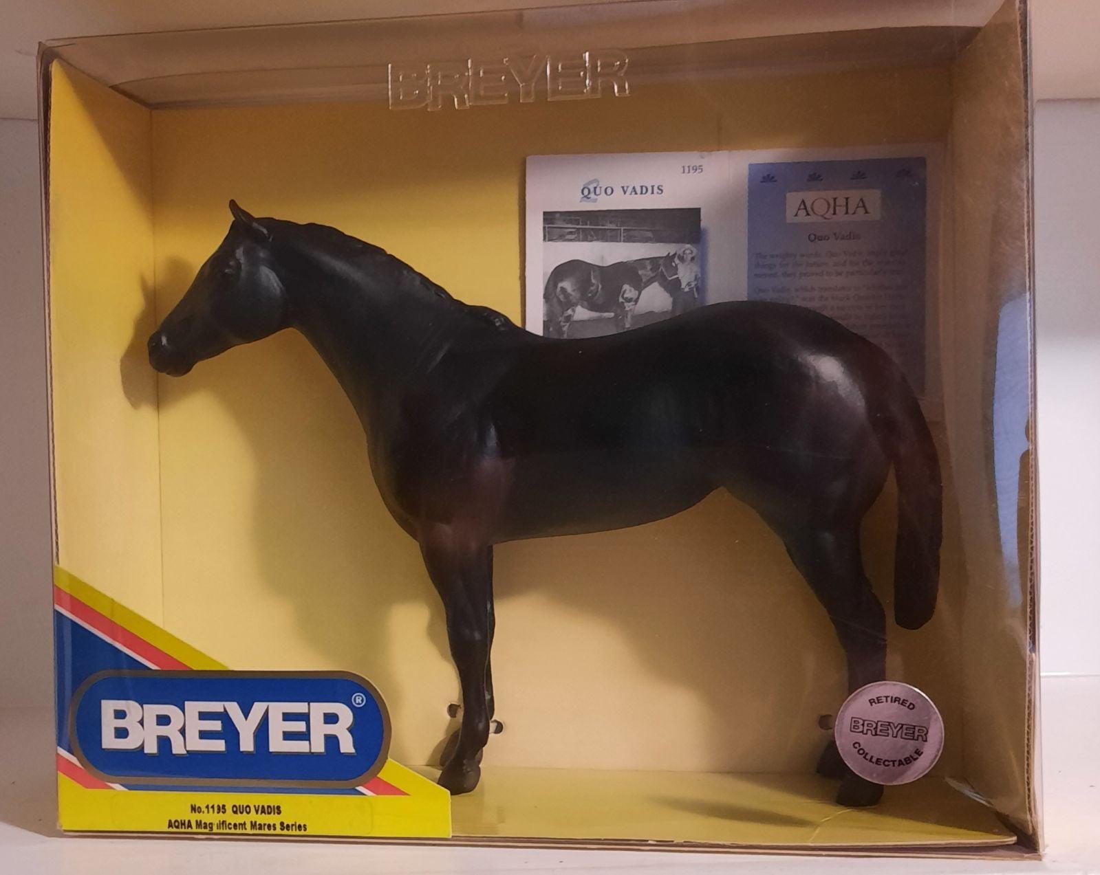 Breyer Quo Vadis No. 1195!