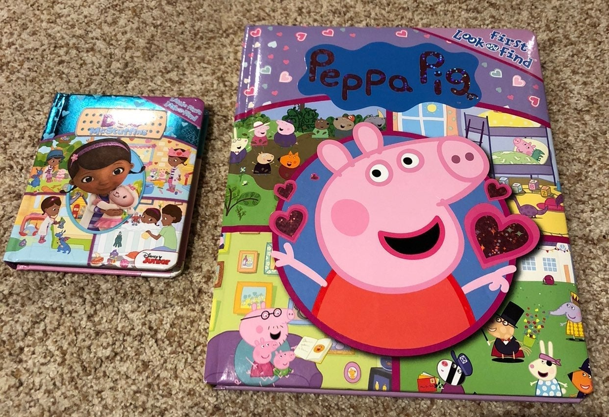 Peppa the Pig and Doc board book search