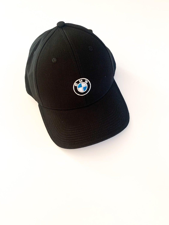 NWT BMW Logo Baseball Hat Black