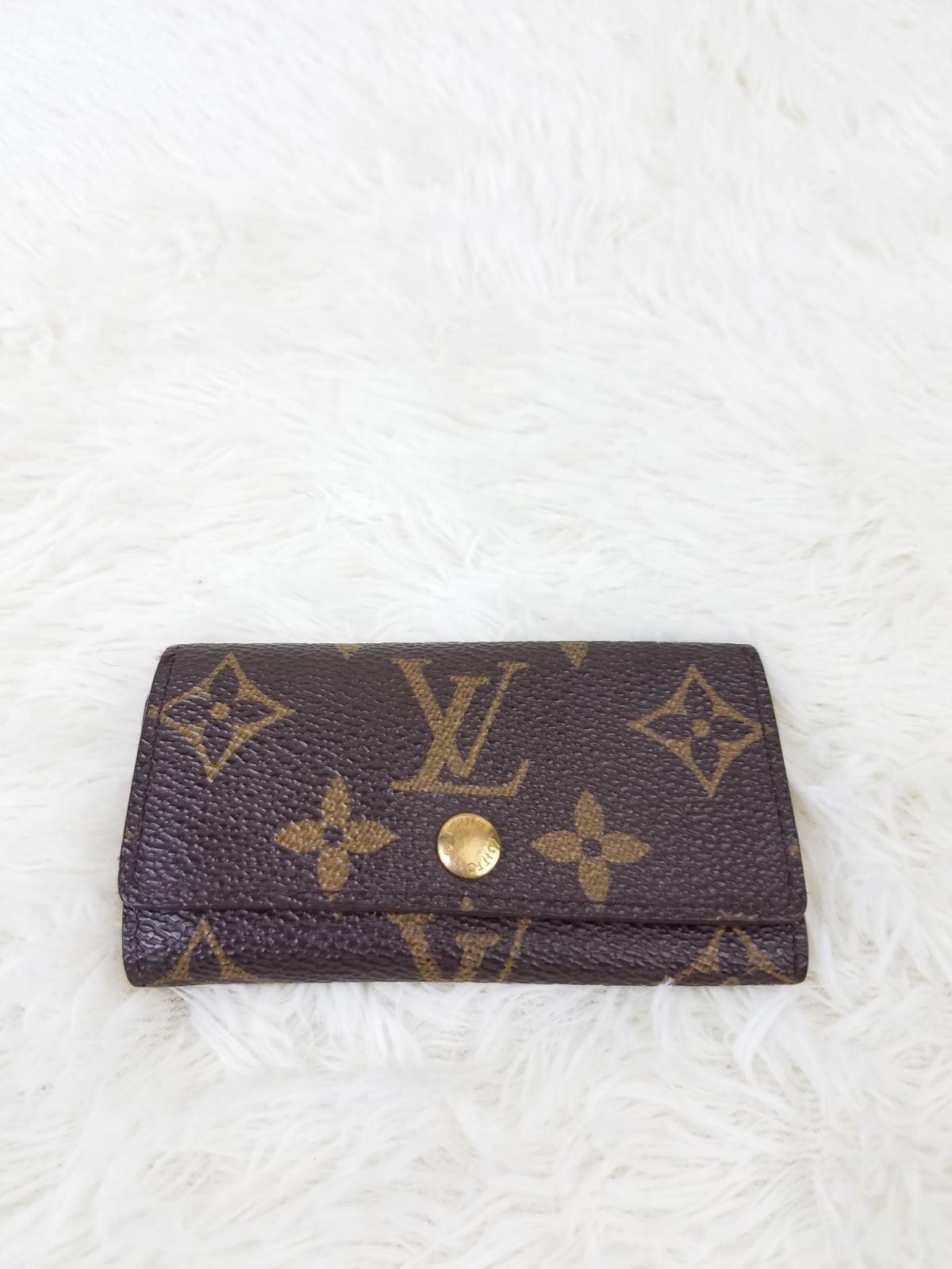 Louis Vuitton Monogram Key Holder AUTH