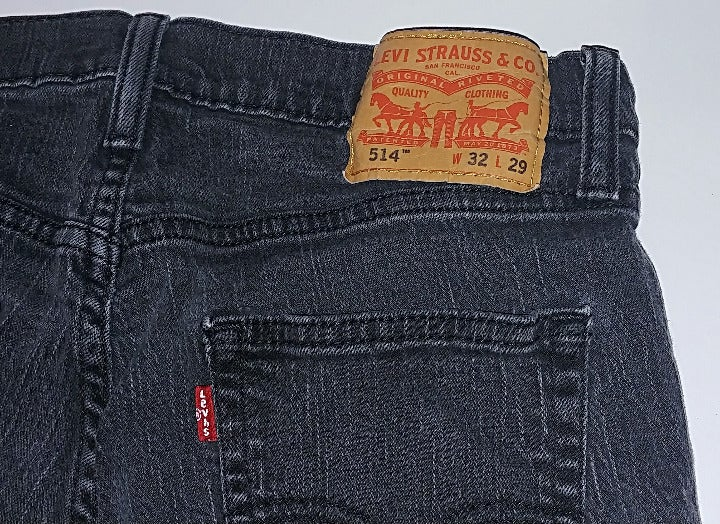 Levi's 514 Straight Fit Jeans Black