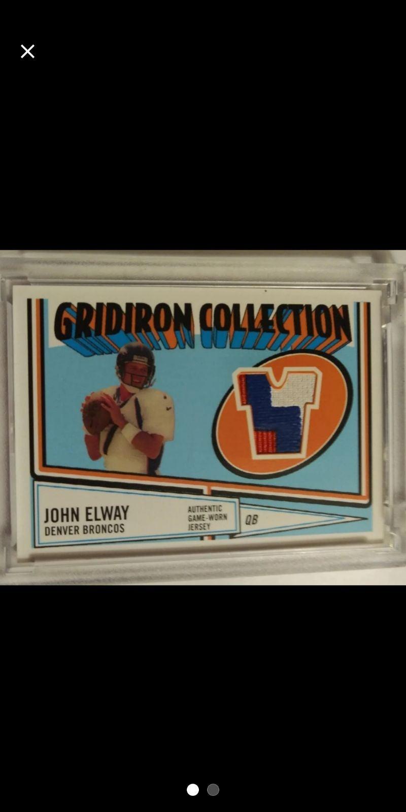 2005 John Elway 3 color game Jersey