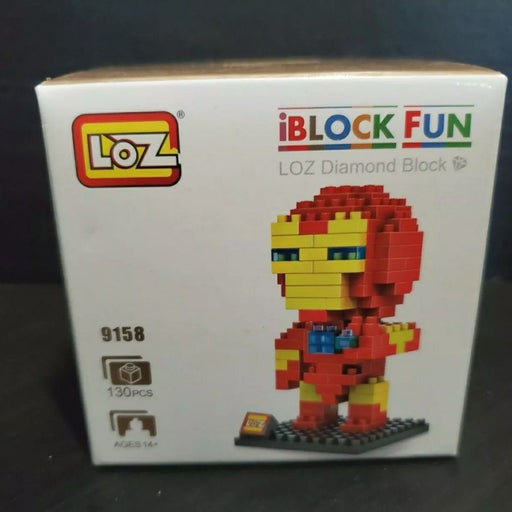 LOZ Diamond Blocks Avengers Iron Man Gif
