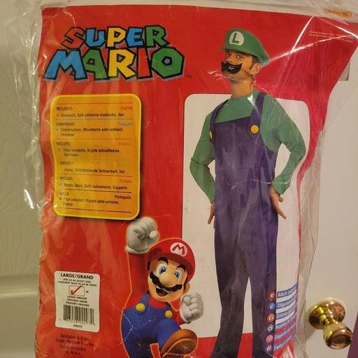 Super Mario Luigi Costume