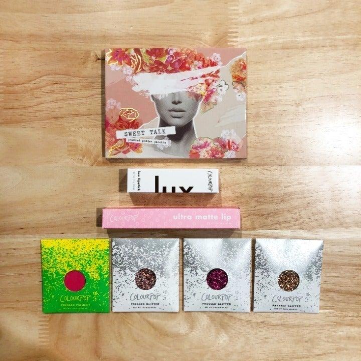 COLOURPOP makeup palette lips bundle NEW