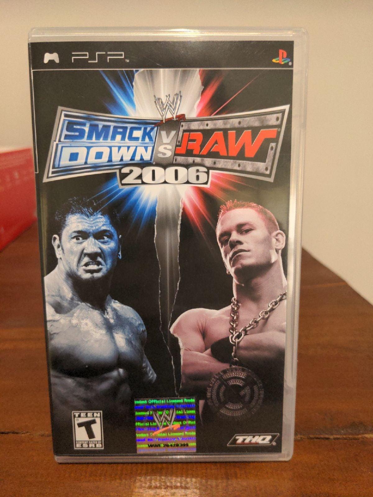 WWE SmackDown vs. Raw 2006 on Sony PSP