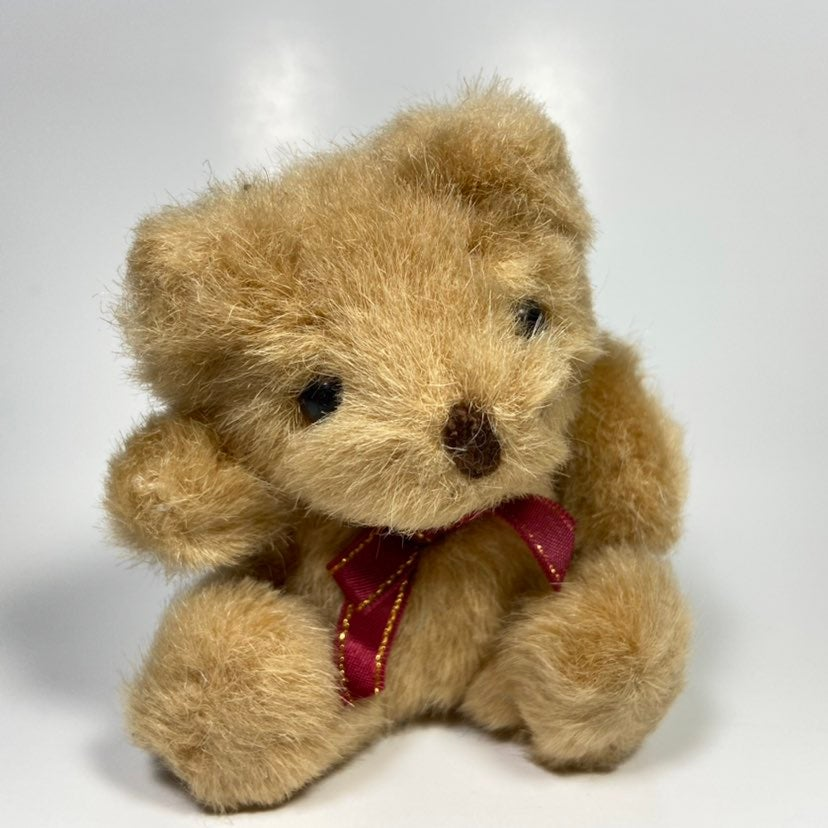 "3.5"" Russ Berrie Miniature Bear Plush"