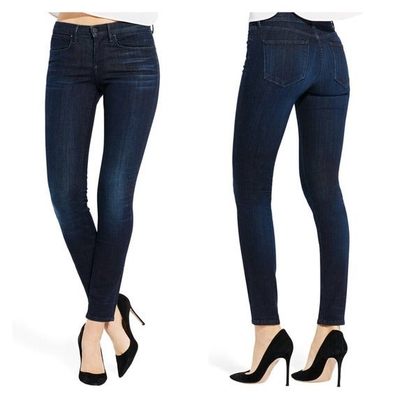 AYR The Skinny Mid Rise Stretch Denim