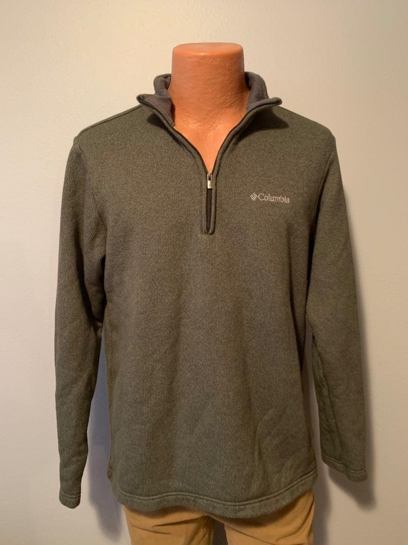 Men's Columbia 1/2 Zip Fleece Sweater M