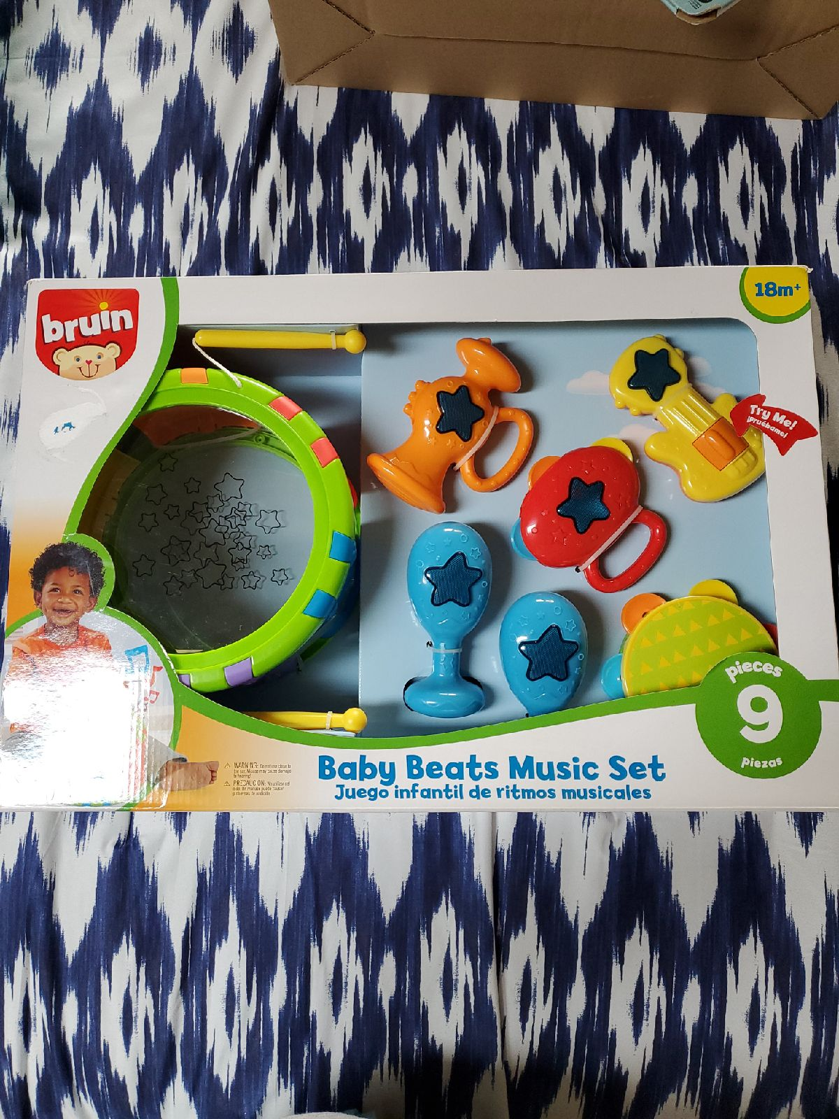 Bruins Baby Beats Music Set