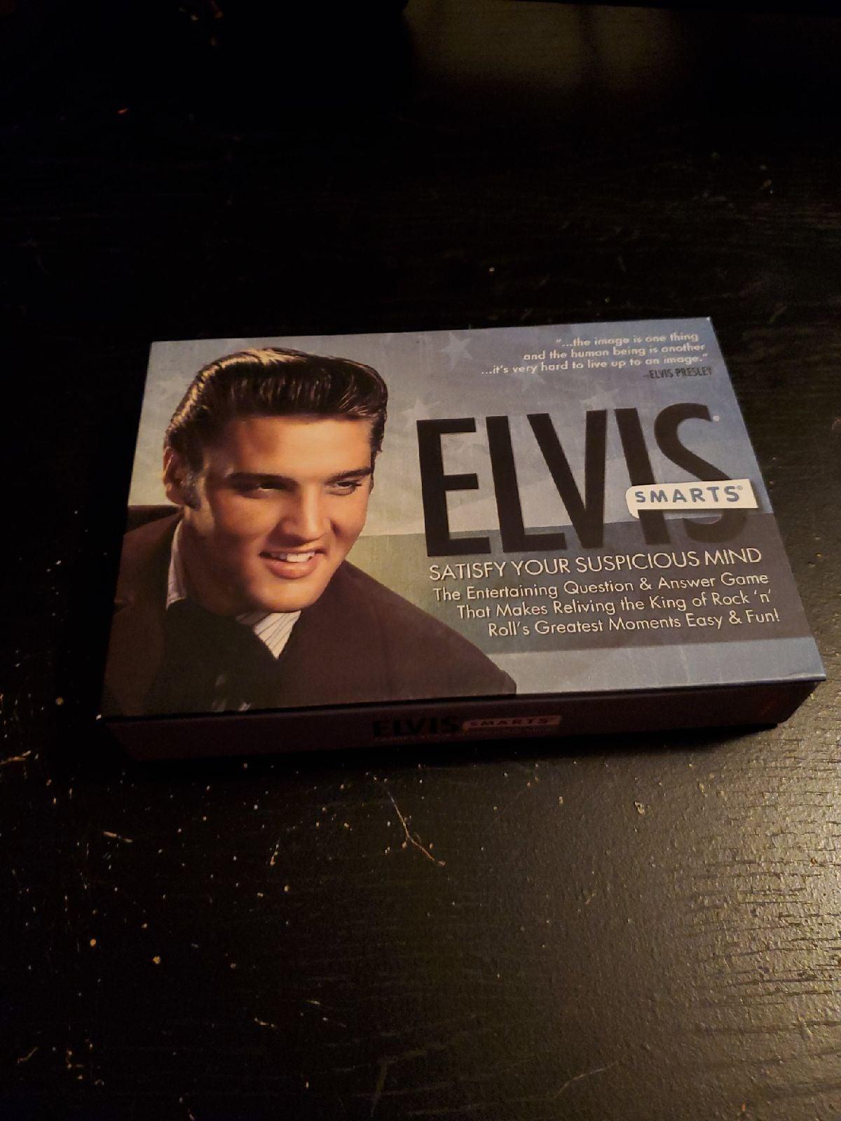 Elvis smarts card game
