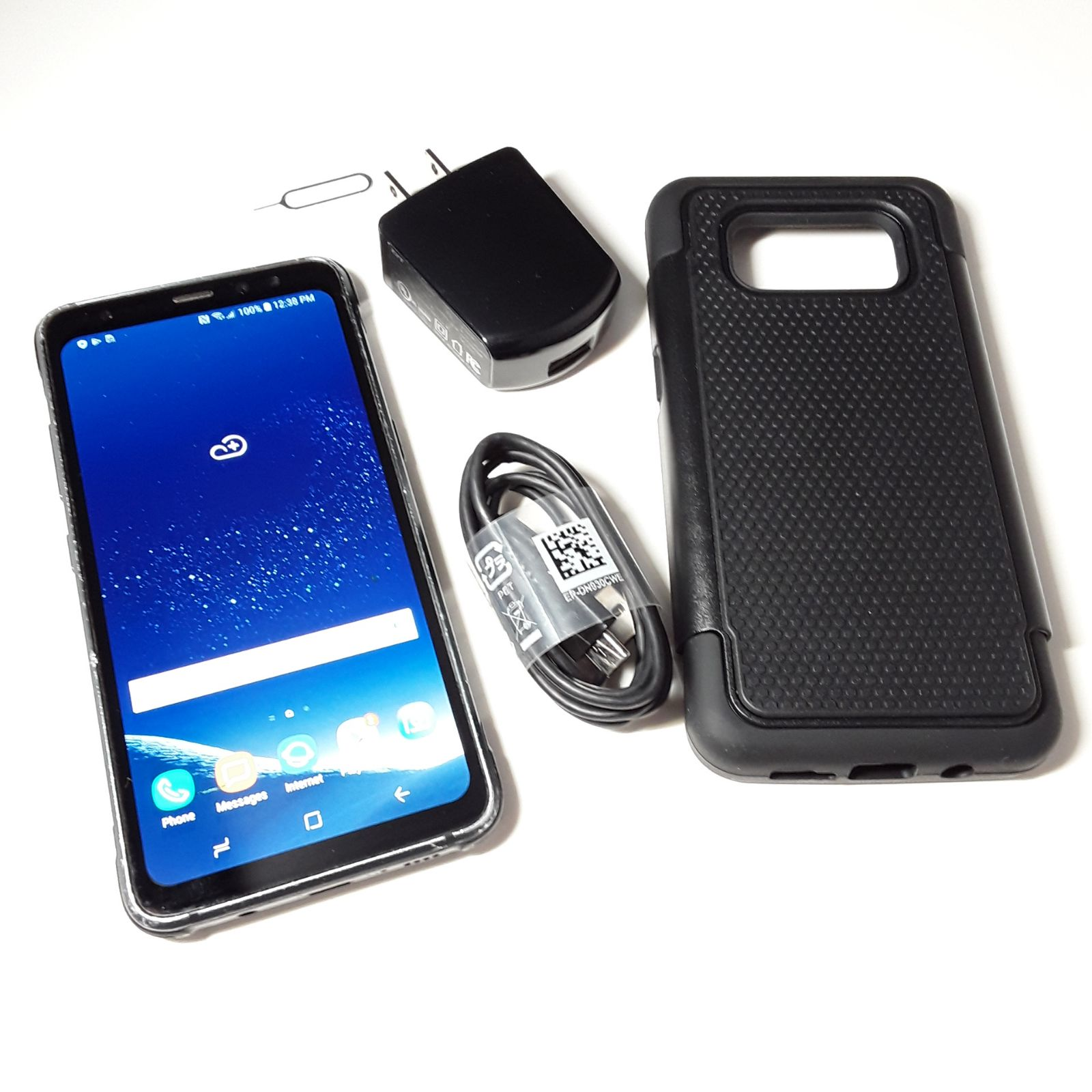 Samsung S8 Active +New Case AT&T Cricket