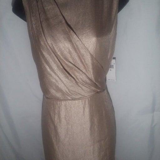 Ralph Lauren Champagne Dress Size 10