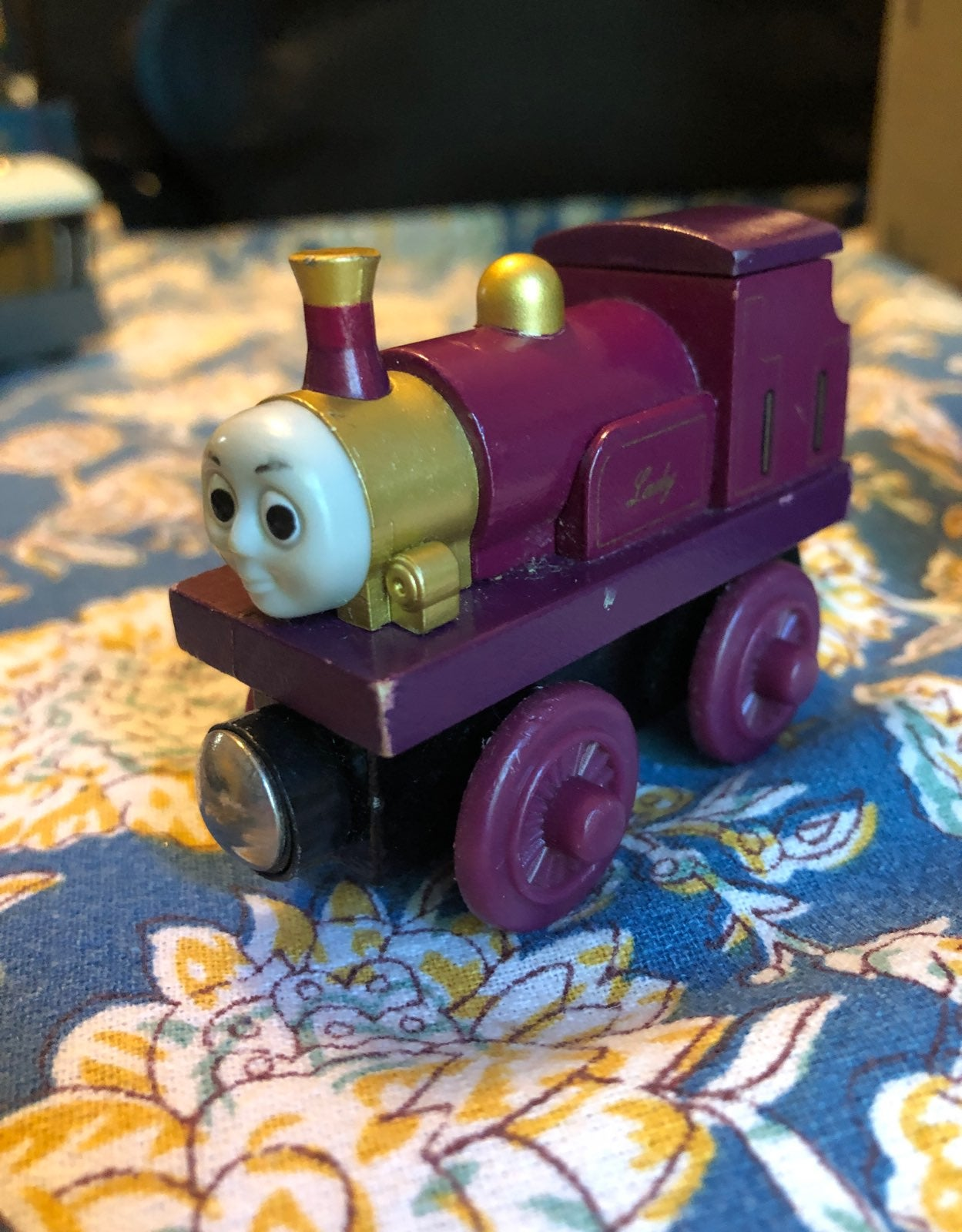 Lady from Thomas the Train