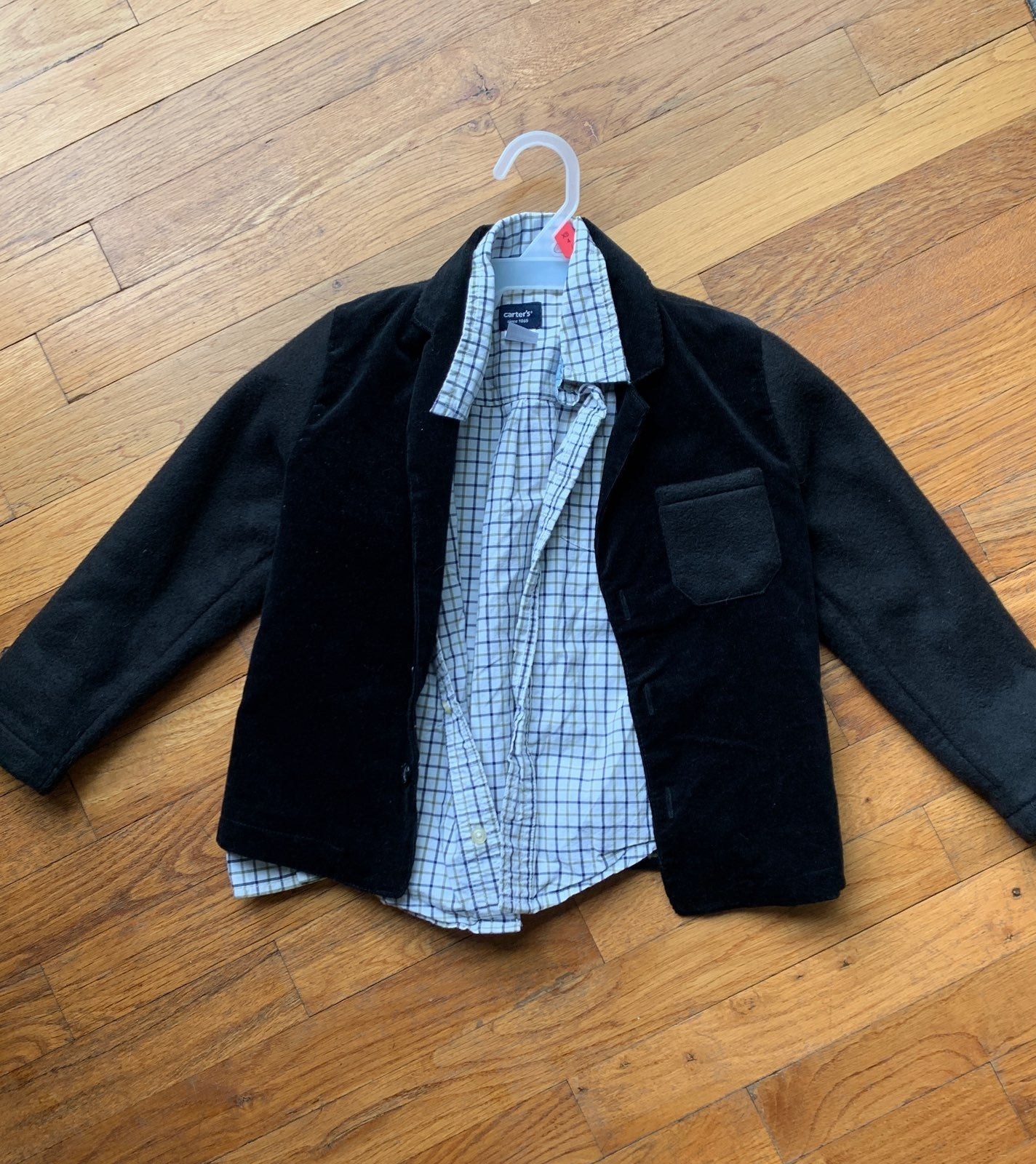 Blazer and dress top for boys
