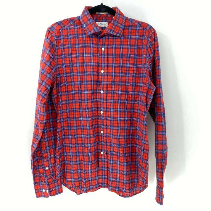 Gant rugger winter madras mens button fr