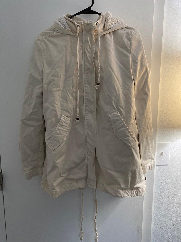 Marrakech sherpa lined jacket size med