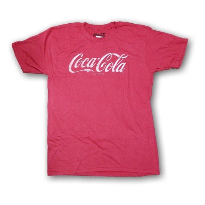 Coca Cola Men's Red Tshirt Size 5XLT