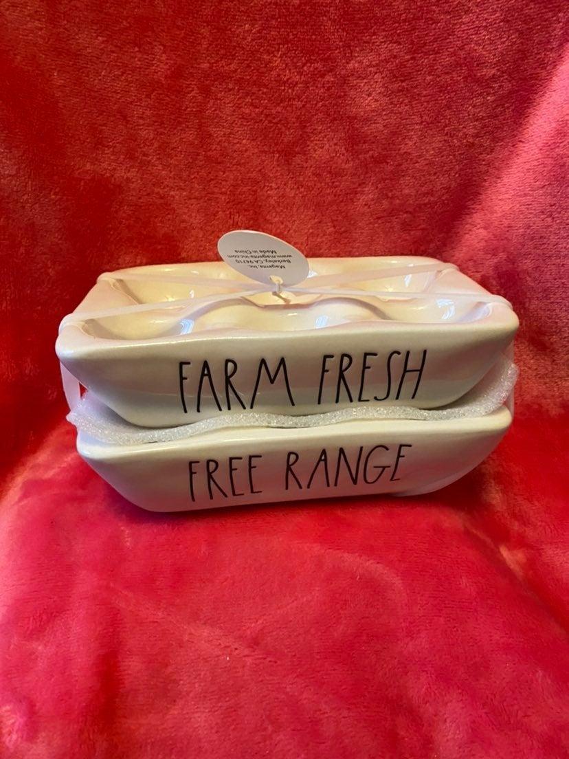 """Rae Dunn """"Farm Fresh"""" & """"Free Range"""""""