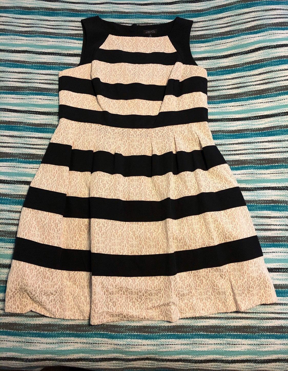 Tahari Striped Dress