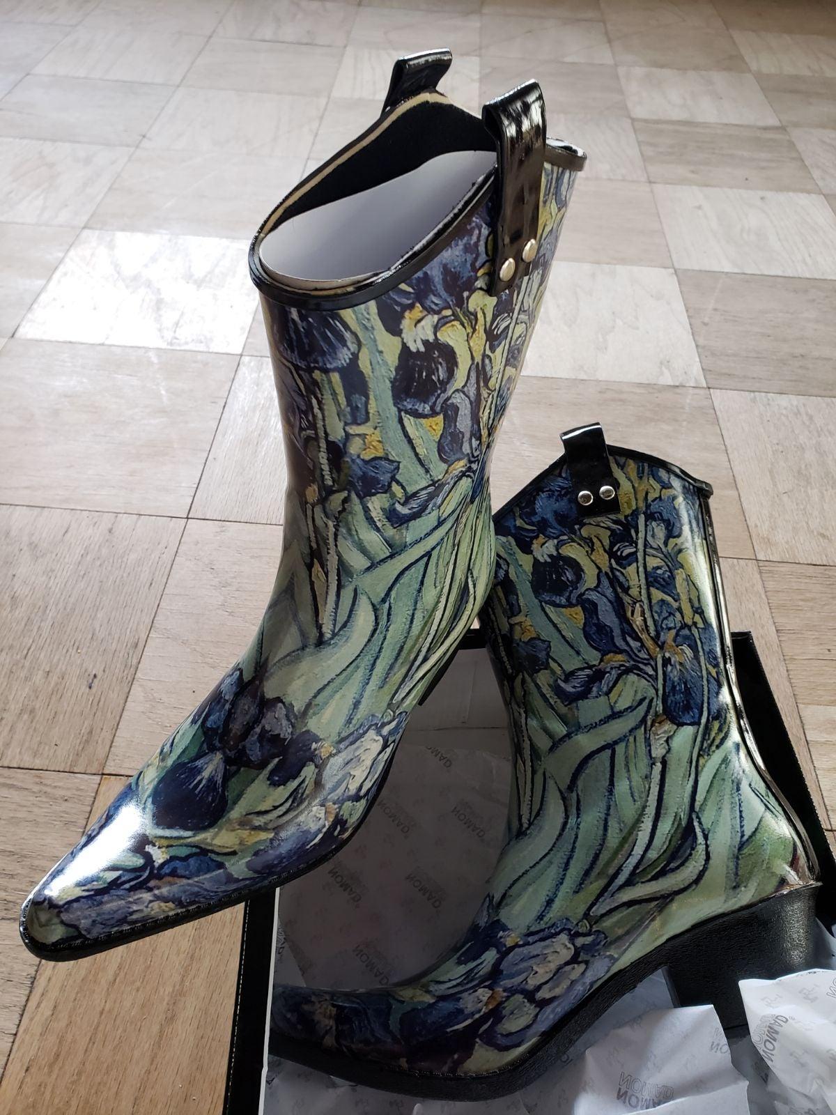 Rain cowboy boots