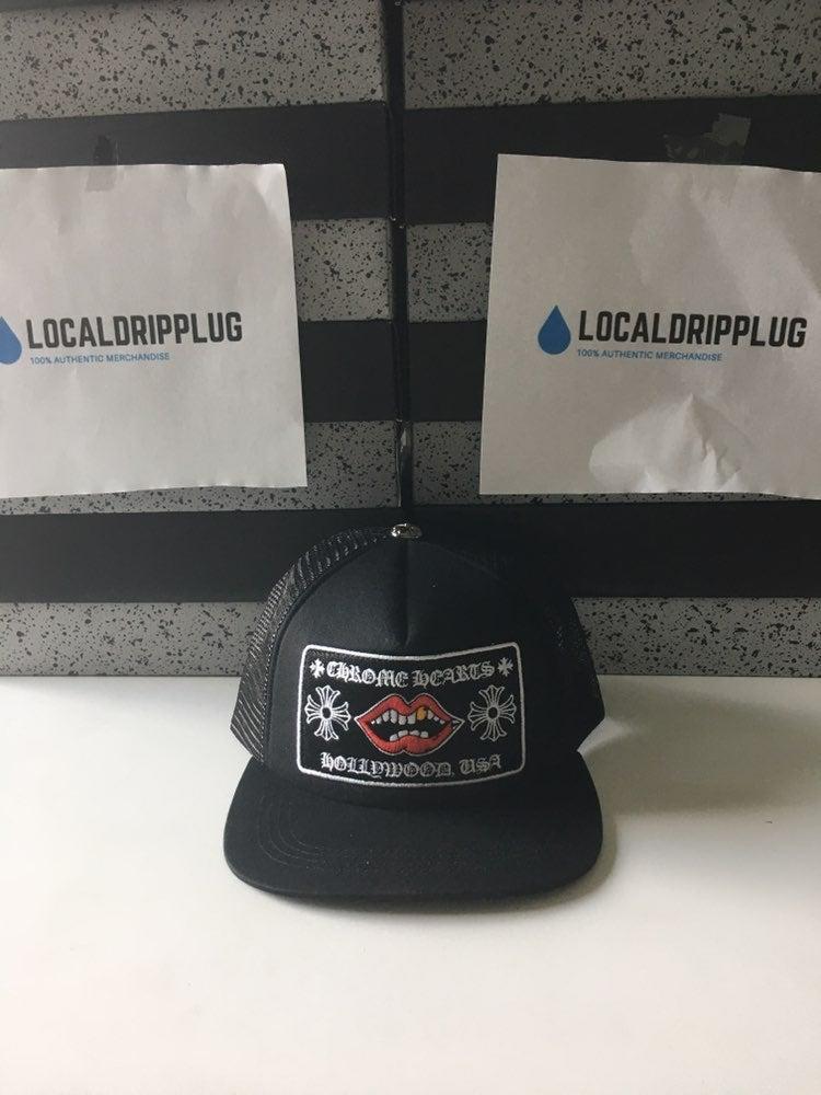 Chrome Hearts Hat Lips