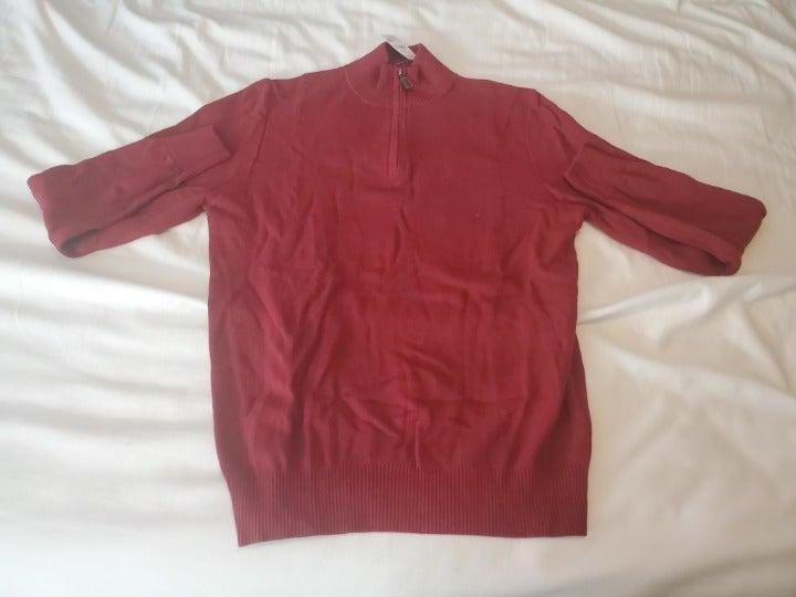 Bloomingdale Half-Zip Sweater