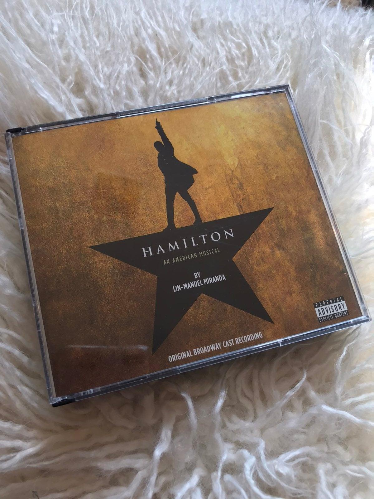 Hamilton Original Broadway CD
