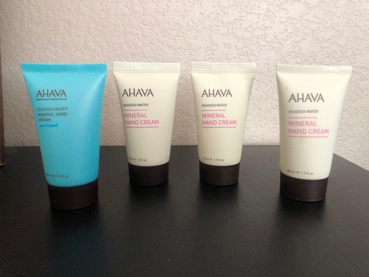 Ahava Mineral Hand Cream bundle