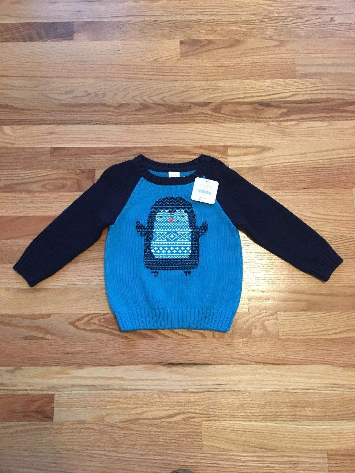 Gymboree toddler pinguin sweater