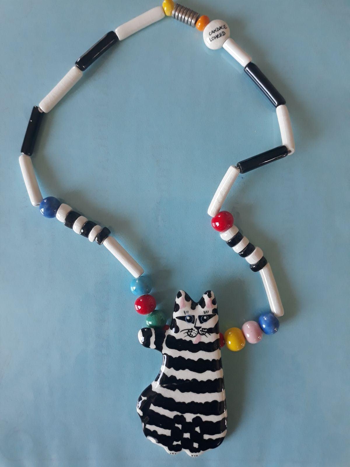 Candace Loheed Ruby Z striped cat