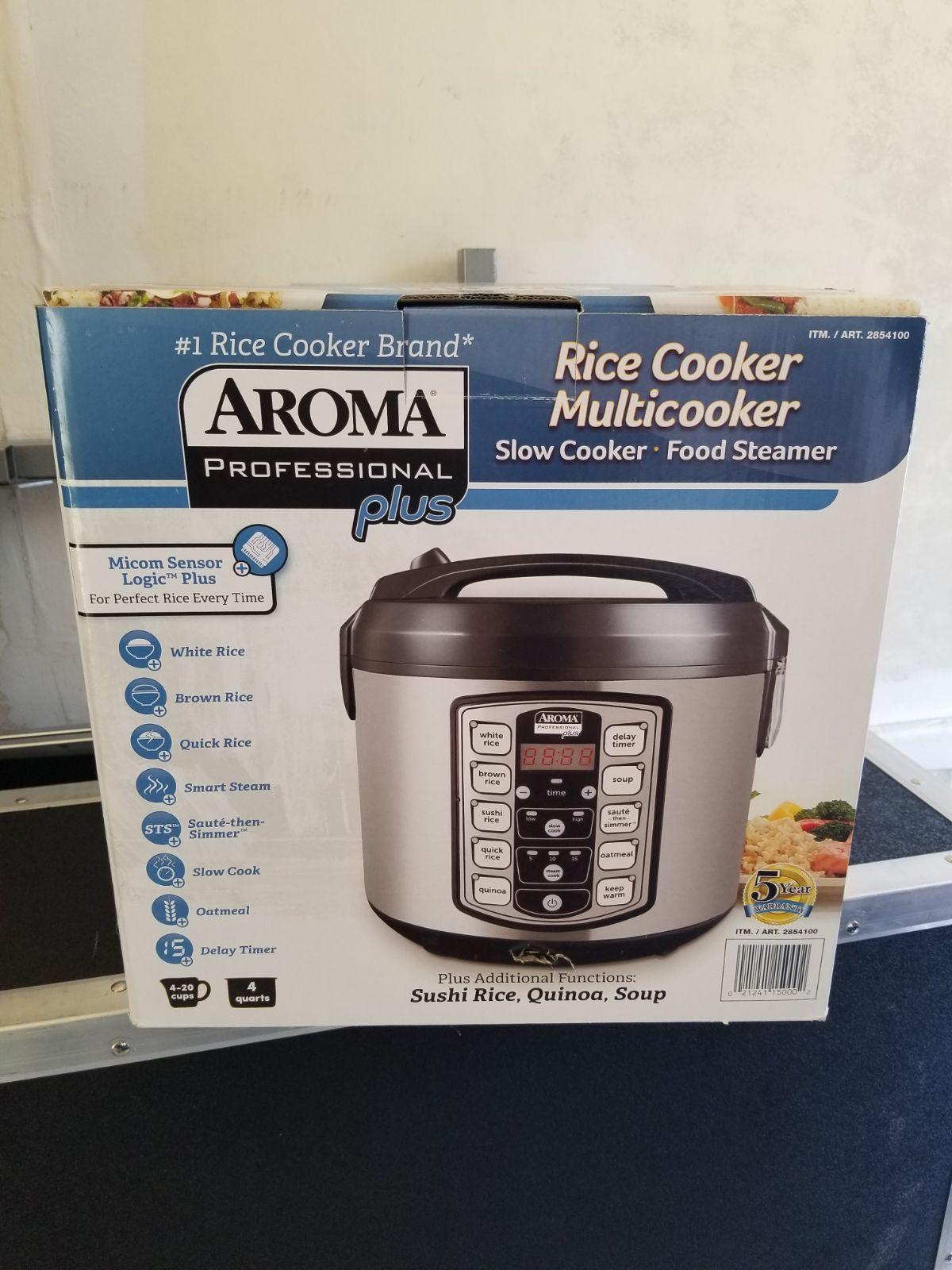 Aroma Rice Multicooker Slow cooker