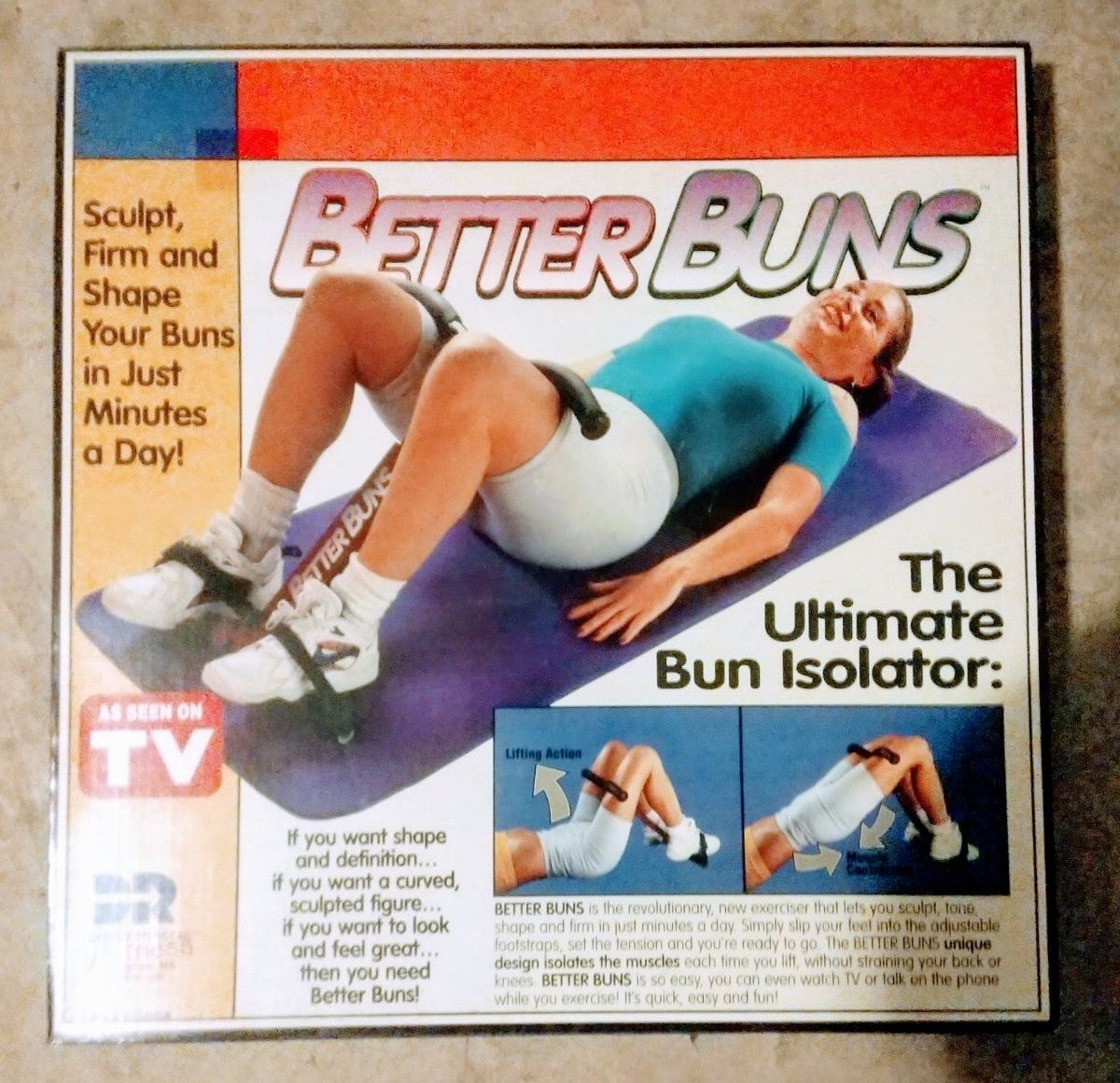 Better Buns & Hips excercise Machine