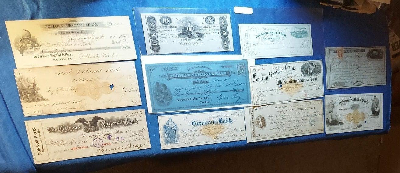 Paper money/currency Post Civil War 1865