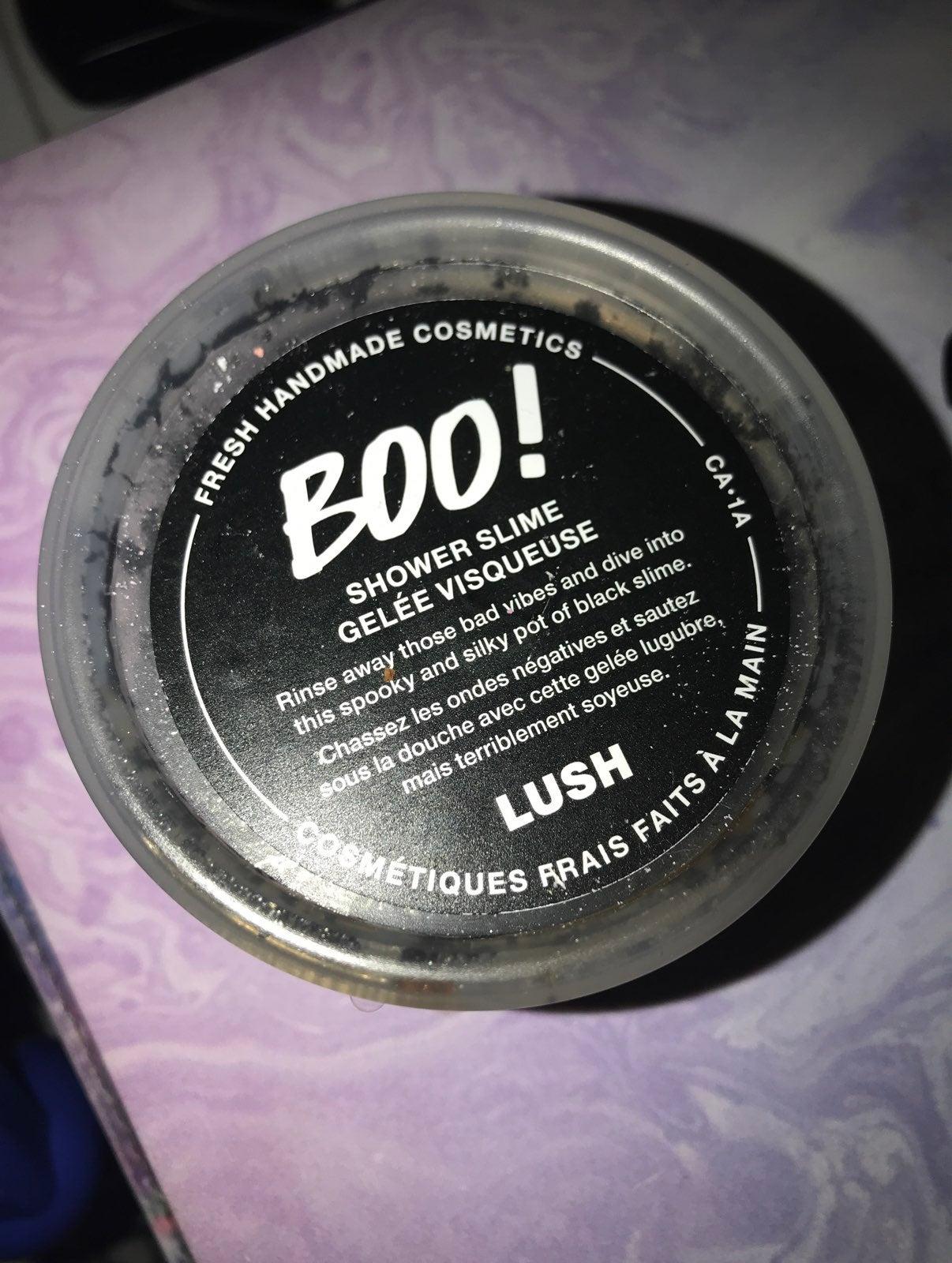Lush boo shower jelly