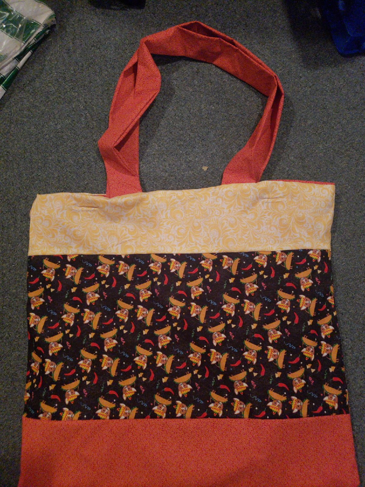 Taco Dog Tote Bag