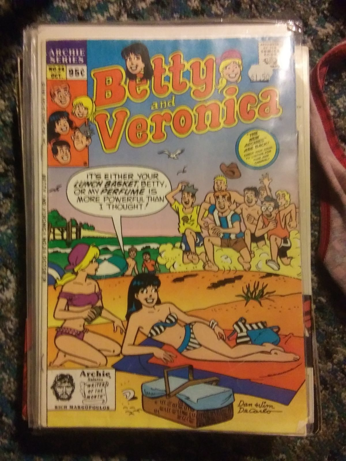 Betty and Veronica comic