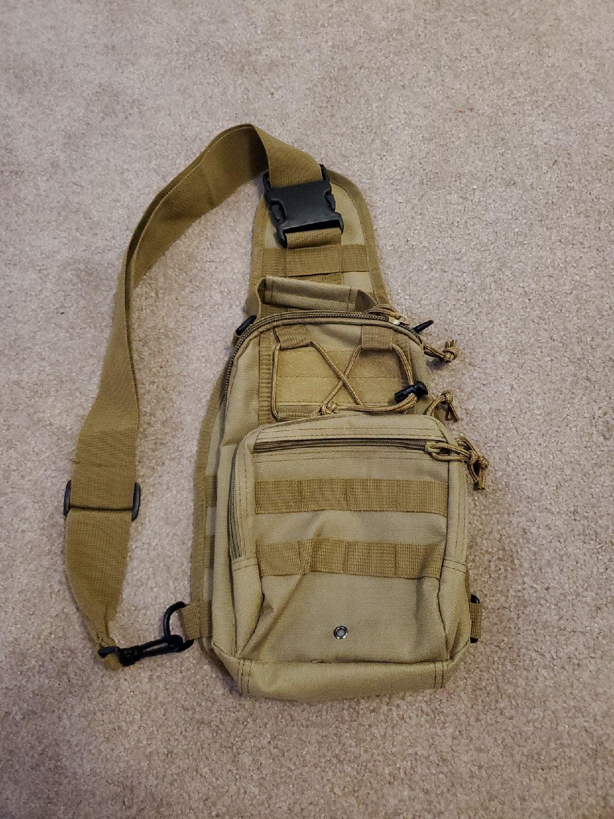 Single Strap Backpack