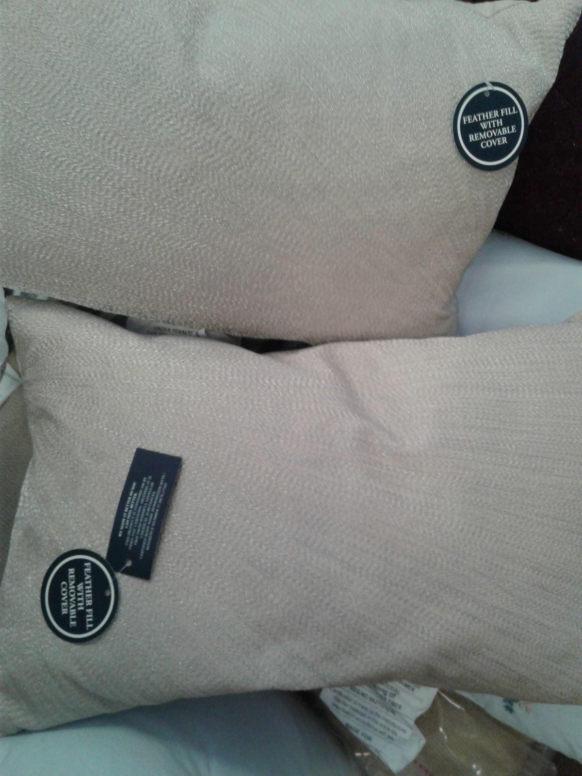 New set of throw pillows