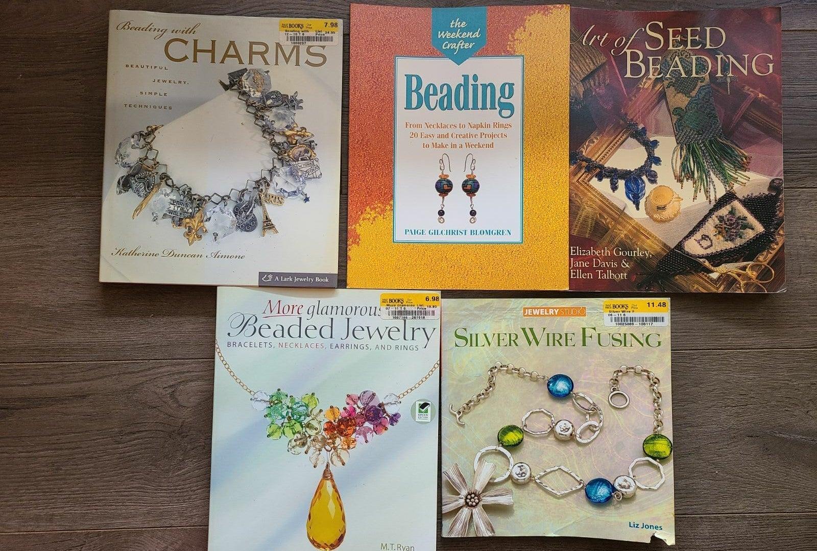 Set of jewelry making/beading books