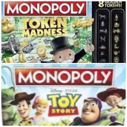 Monopoly Board Games Lot (2)