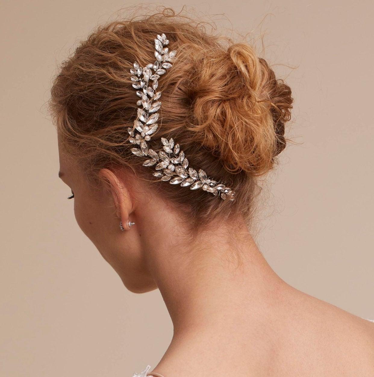 BHLDN Abrielle Hair Comb Brides&Hairpins