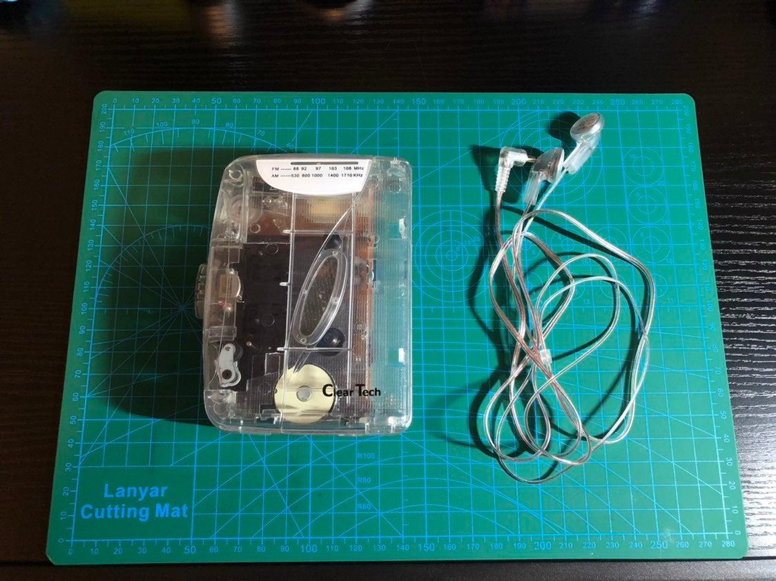 Cassette Player Clear Tech