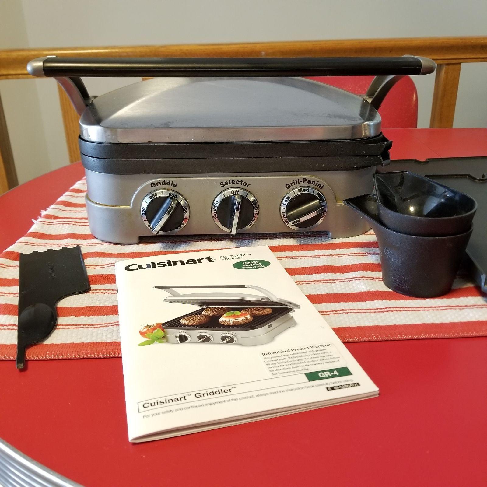 EUC Cuisinart Griddler GR-4