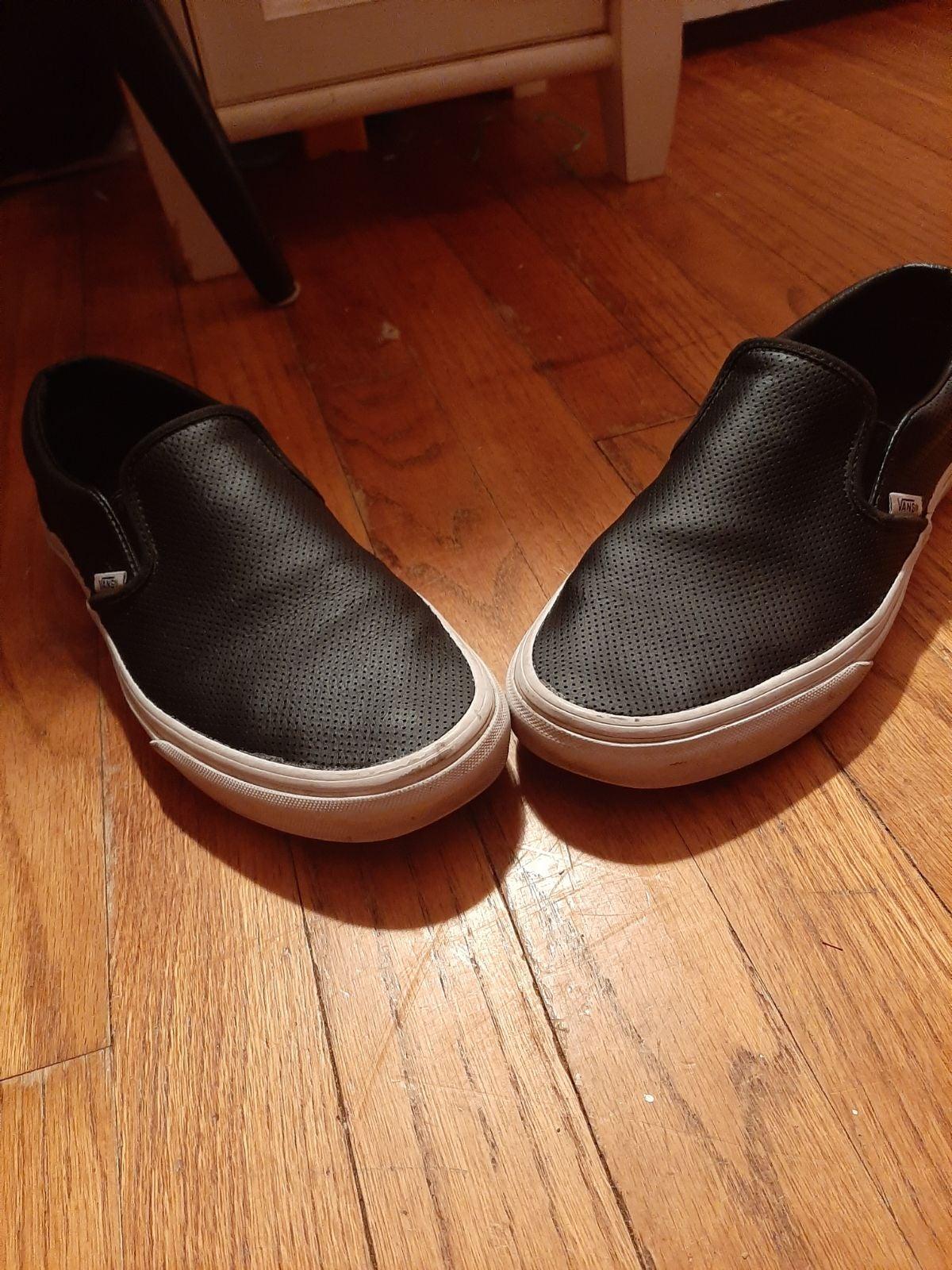 Vans Authentic Canvas Skate Shoes Black