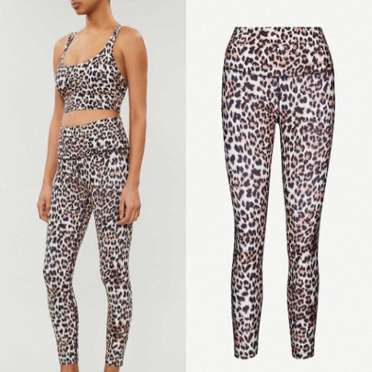 Lorna Jane Panthera leopard leggings XS