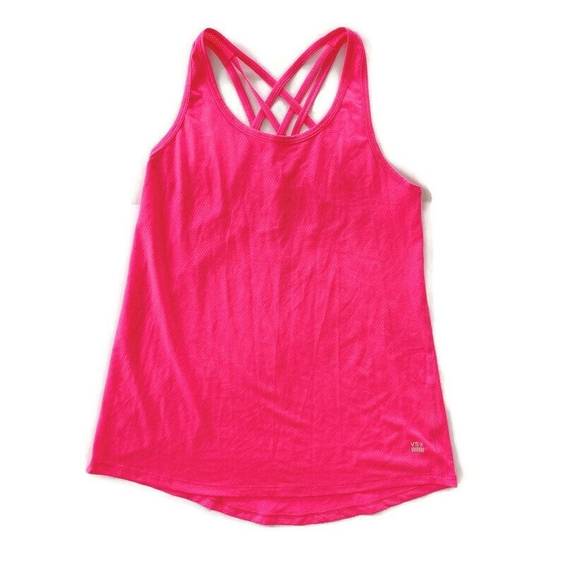 VSX Workout Tank Top Neon Pink M