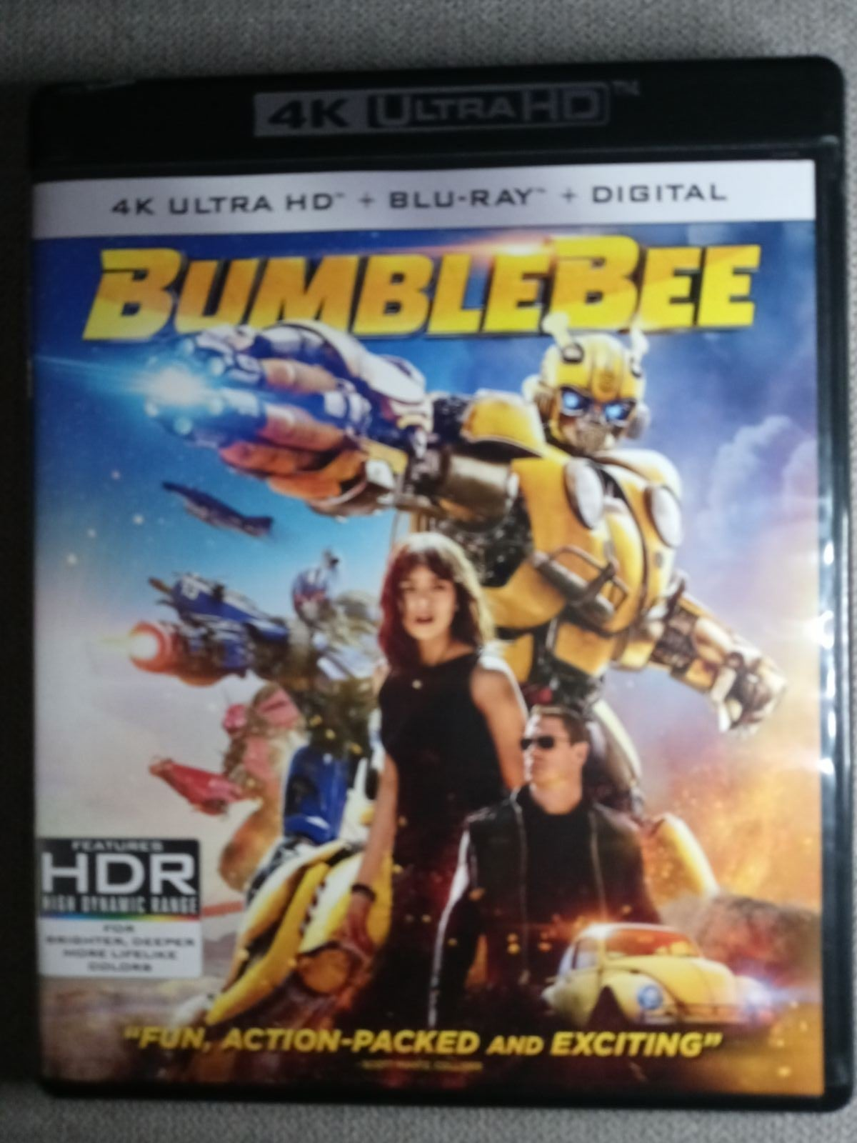 4k Disk and case Only Bumblebee