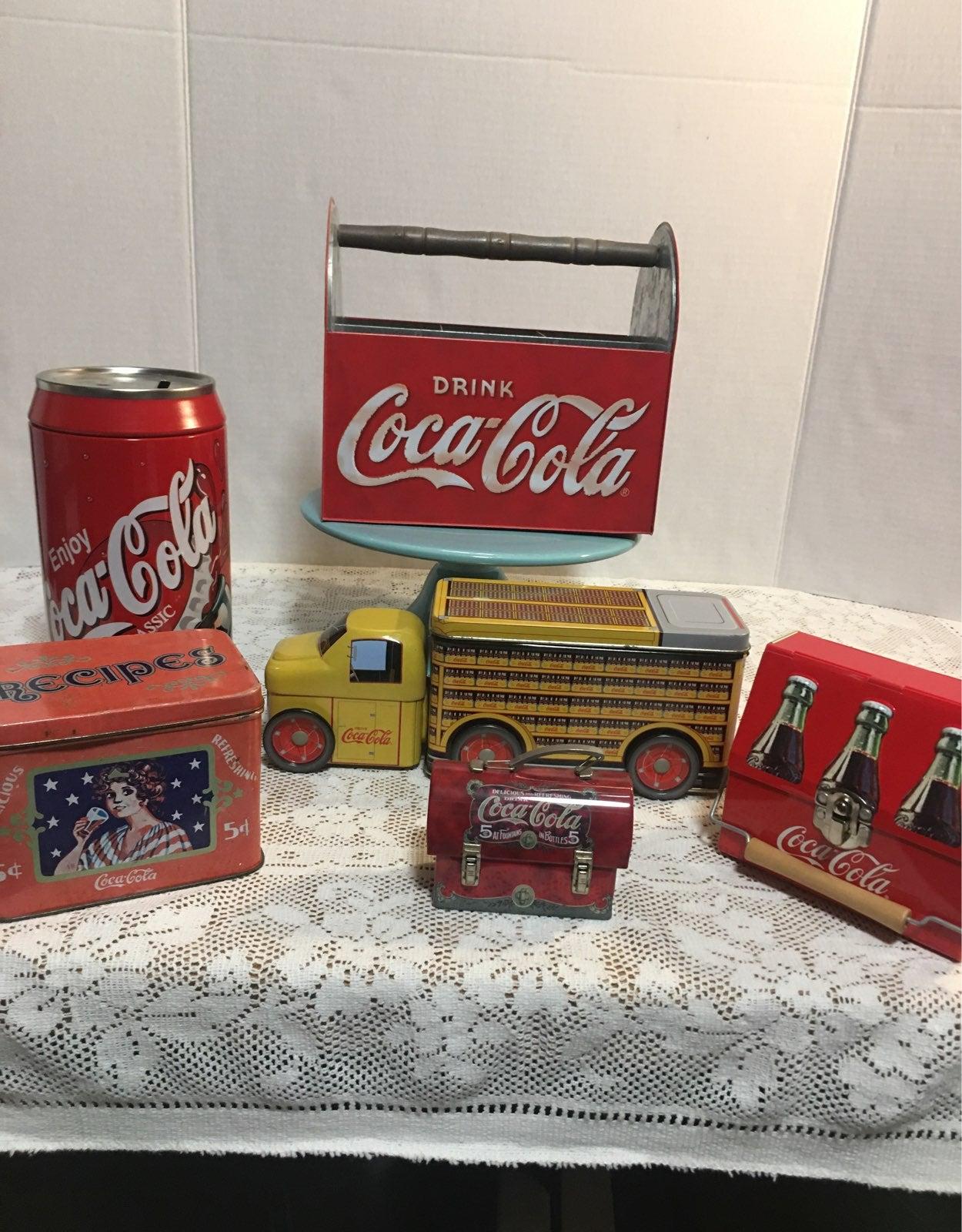Coca Cola Tin Lot