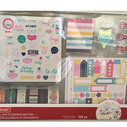 Craftsmart Sticker and Embellishment